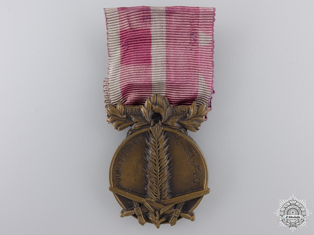 eMedals-A 1926 Lebanon Campaign medal