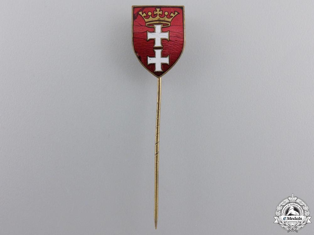 eMedals-A 1930's Danzig Patriotic Pin