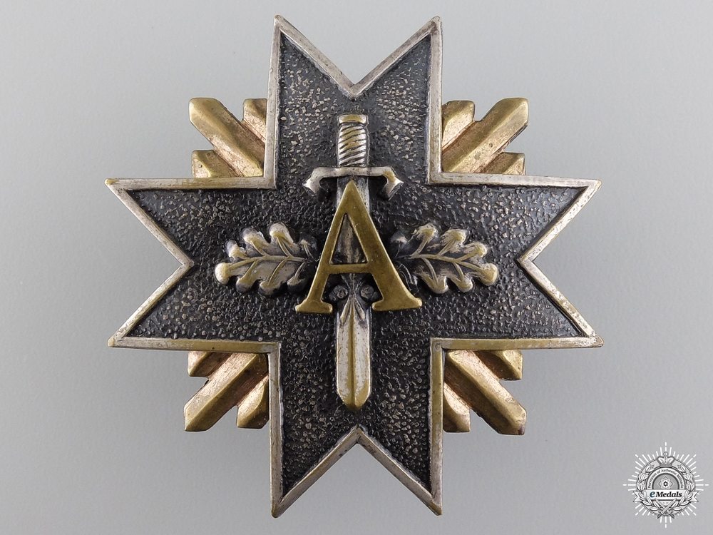 eMedals-A 1930's Latvian Military Army Badge