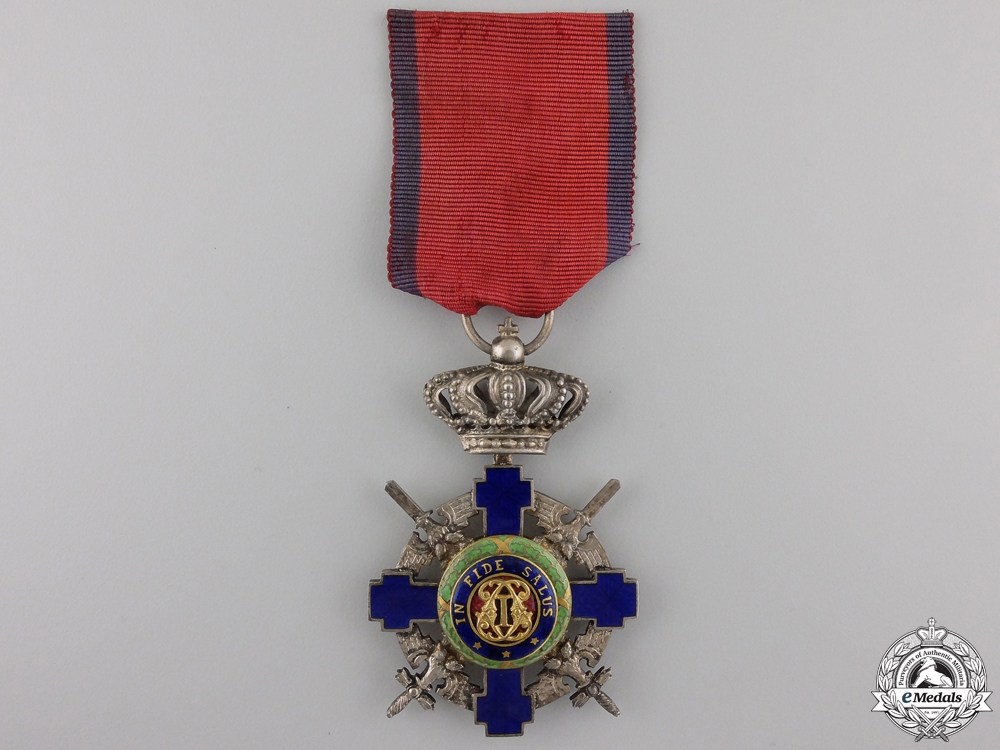 eMedals-Romania, Kingdom. An Order of the Star, Knight's Cross with Swords, c.1942
