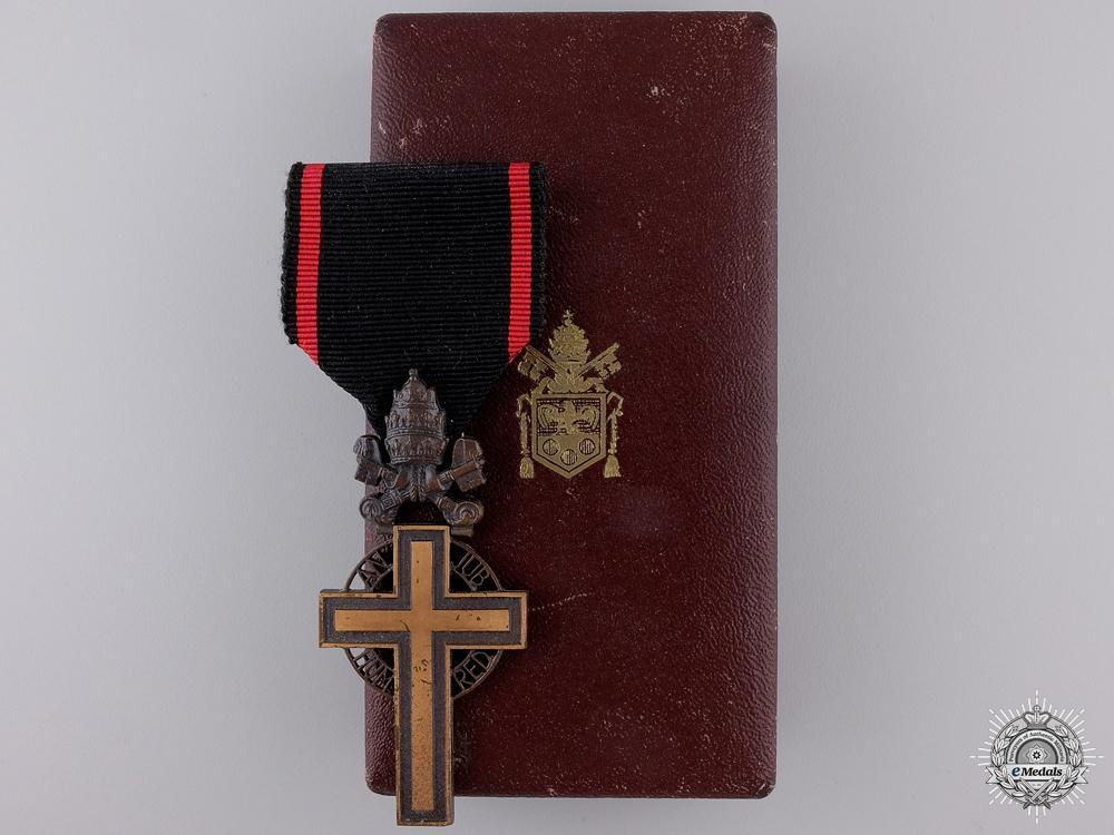 eMedals-A 1933 Benemerenti Cross; Pope Pius XI