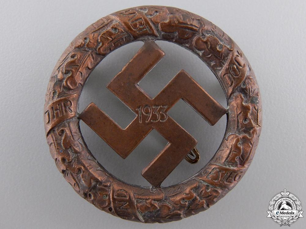 eMedals-A 1933 Gau- München Badge