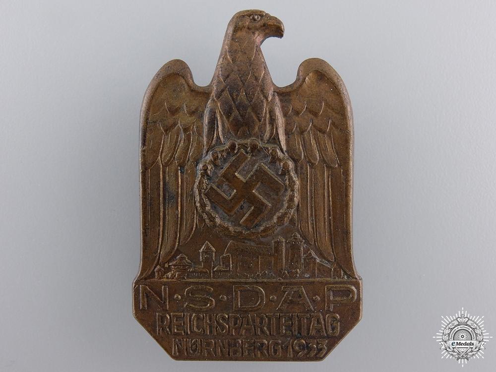 eMedals-A 1933 NSDAP Nurnberg Badge