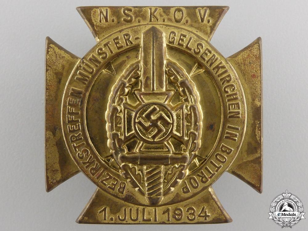 eMedals-A 1934 NSKOV Veterans Rally Tinnie