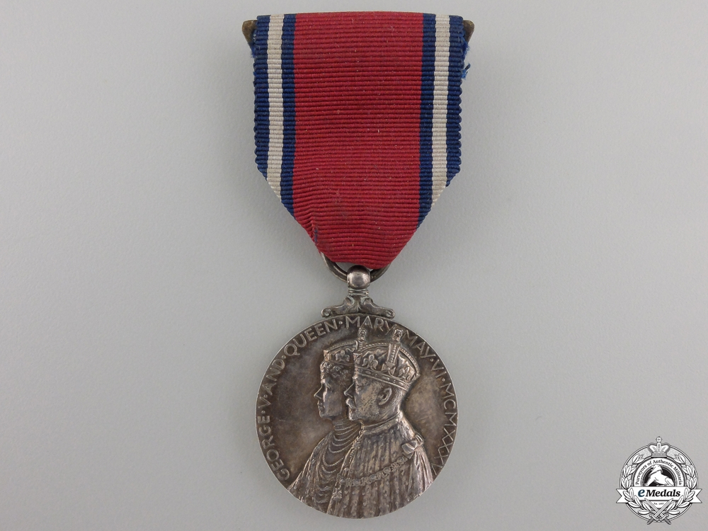 eMedals-A 1935 George V Jubilee Medal