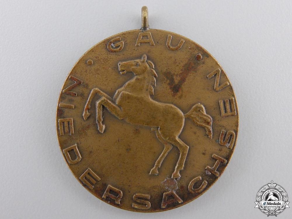 eMedals-A 1935 German Niedersachsen Shooting Award