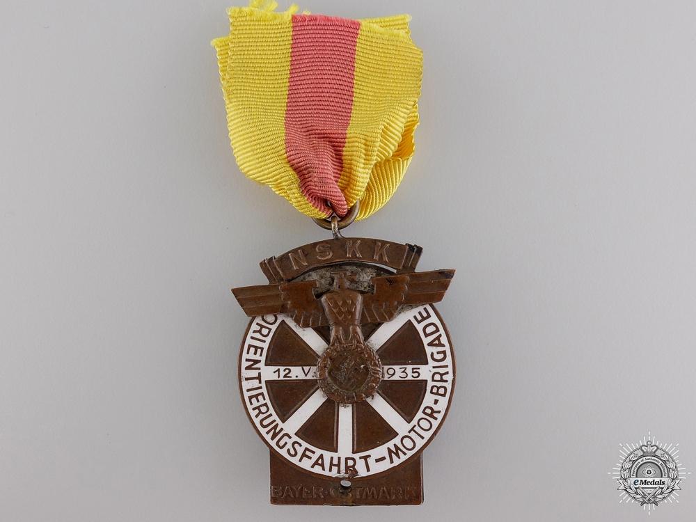 eMedals-A 1935 NSKK Bayer-Ostmark Motor Brigade Medal