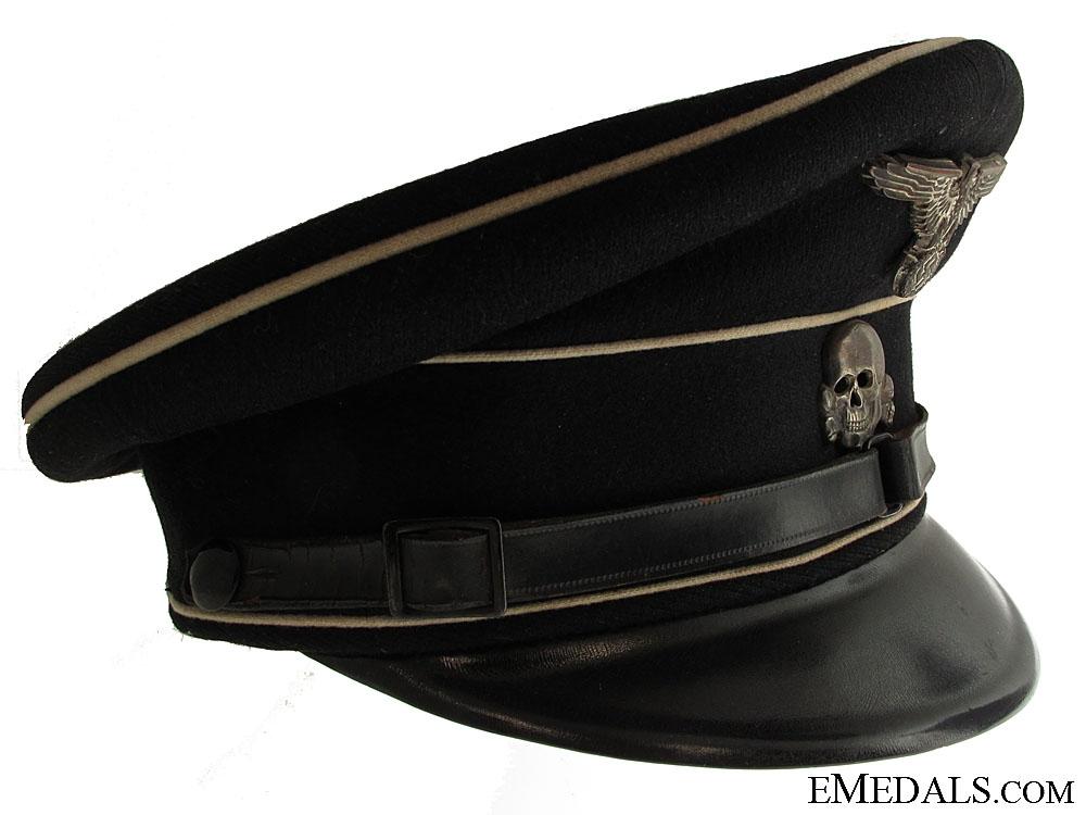 eMedals-A 1936 Allgemeine SS NCO Visor Cap