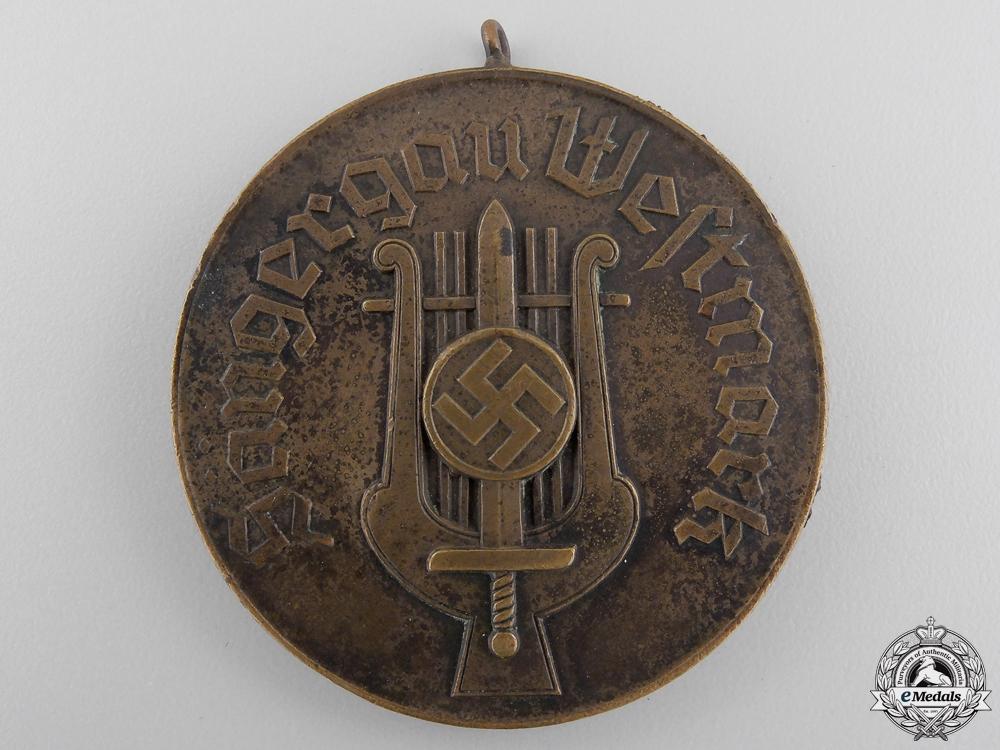 eMedals-A July 1936 Gau Westmark Singer Rally Medal