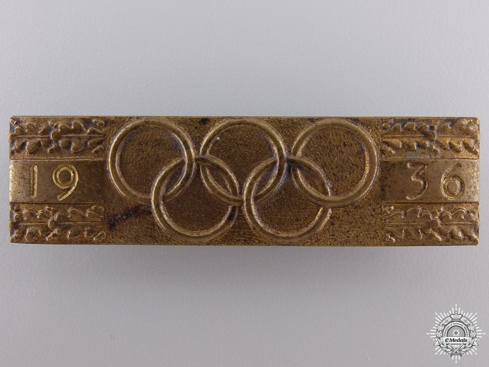 eMedals-A 1936 German Olympic Badge