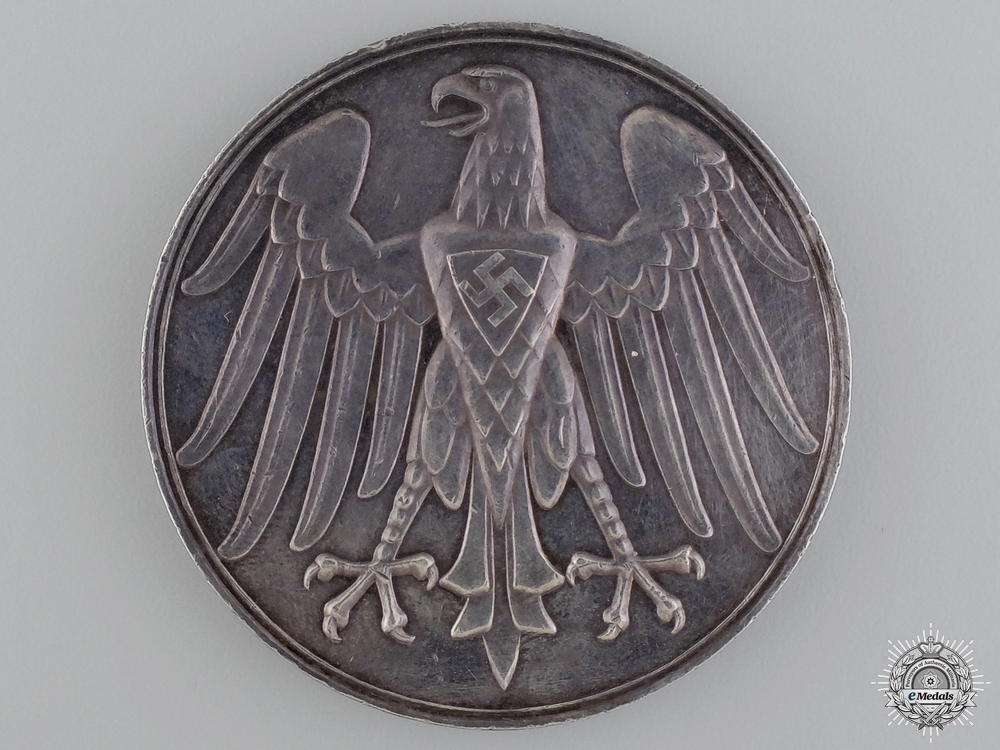 eMedals-A 1937 German Lifesaving Award in Silver