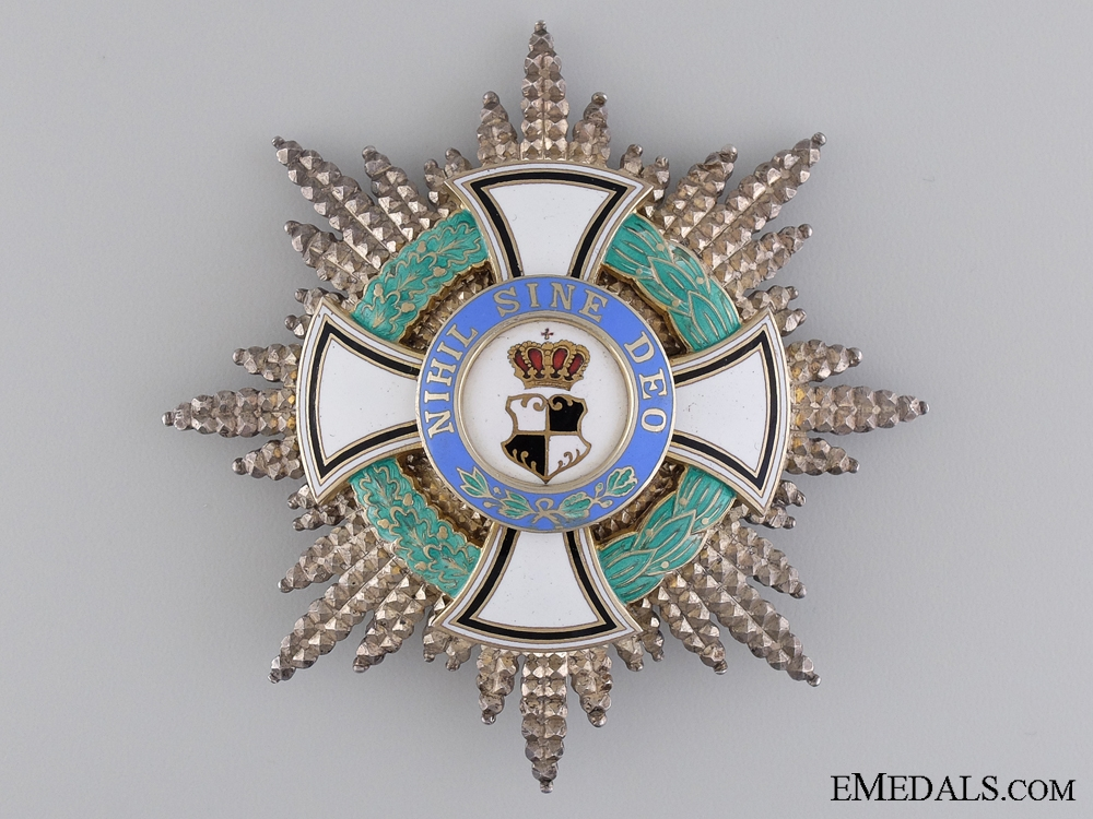 eMedals-A 1938-40 Romanian Order of the Ruling House; Grand Cross Star