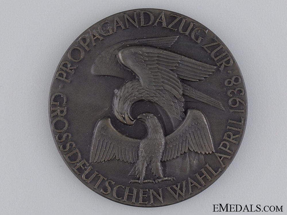 eMedals-A 1938 Medal for the Propagation of the German Election