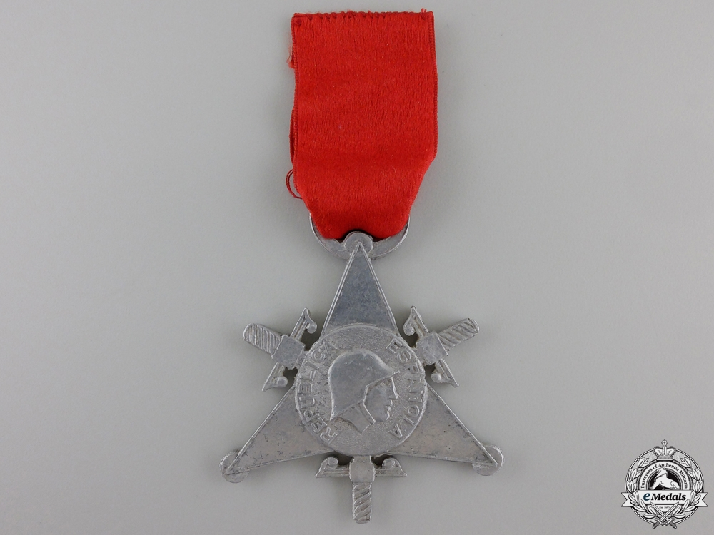 eMedals-A 1938 Spanish Medal of the International Brigades