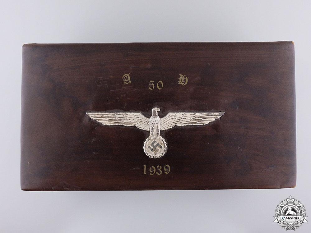 eMedals-A 1939 AH 50th Birthday Box