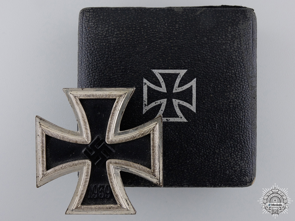 eMedals-A 1939 First Class Iron Cross with Case by B. H. Mayer