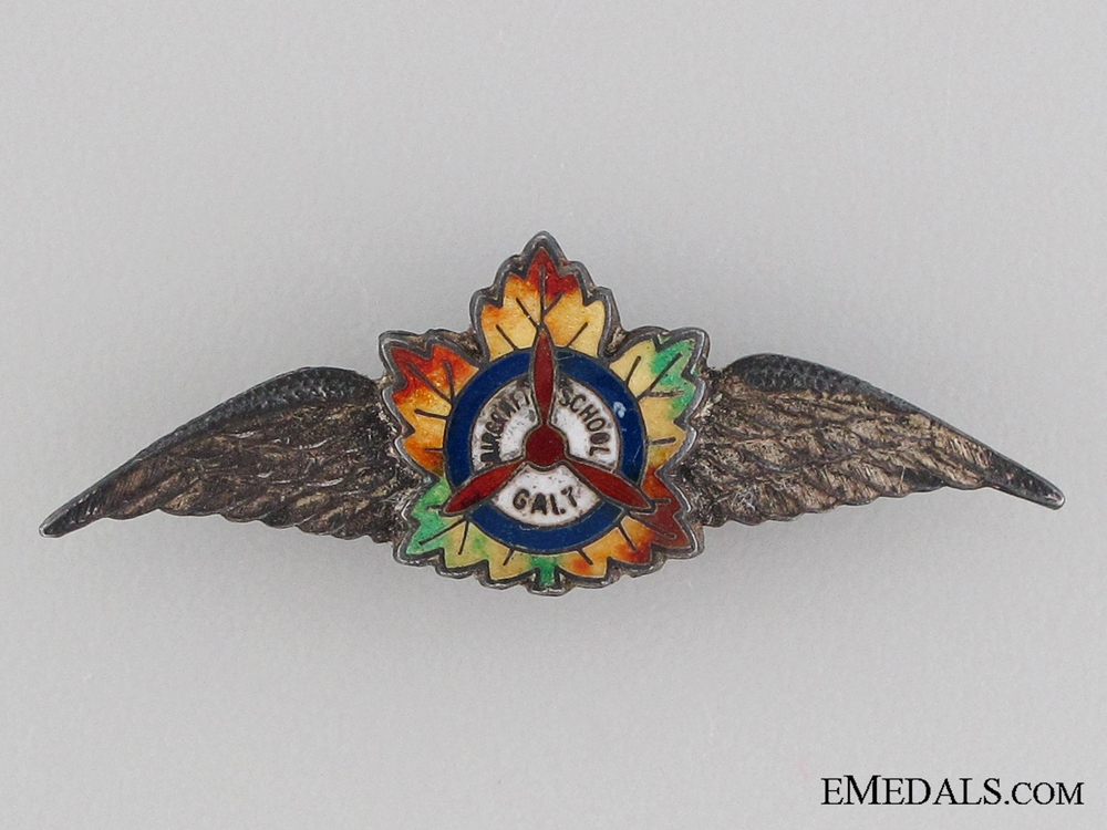 eMedals-A 1940's Canadian Aircraft School Wings