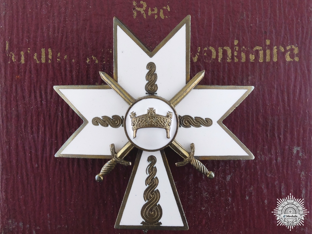 eMedals-A 1941-45 Croatian Order of King Zvonimir with Swords; Second Class
