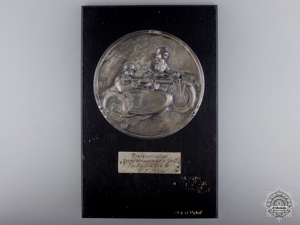 eMedals-A 1941 Army Shooting Award  to the 13th Reserve Anti-Tank Battalion