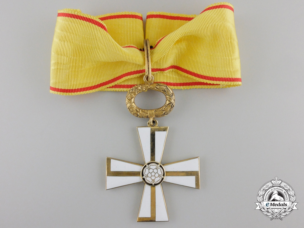 eMedals-A 1941 Finnish Order of the Cross of Liberty; 1st Class
