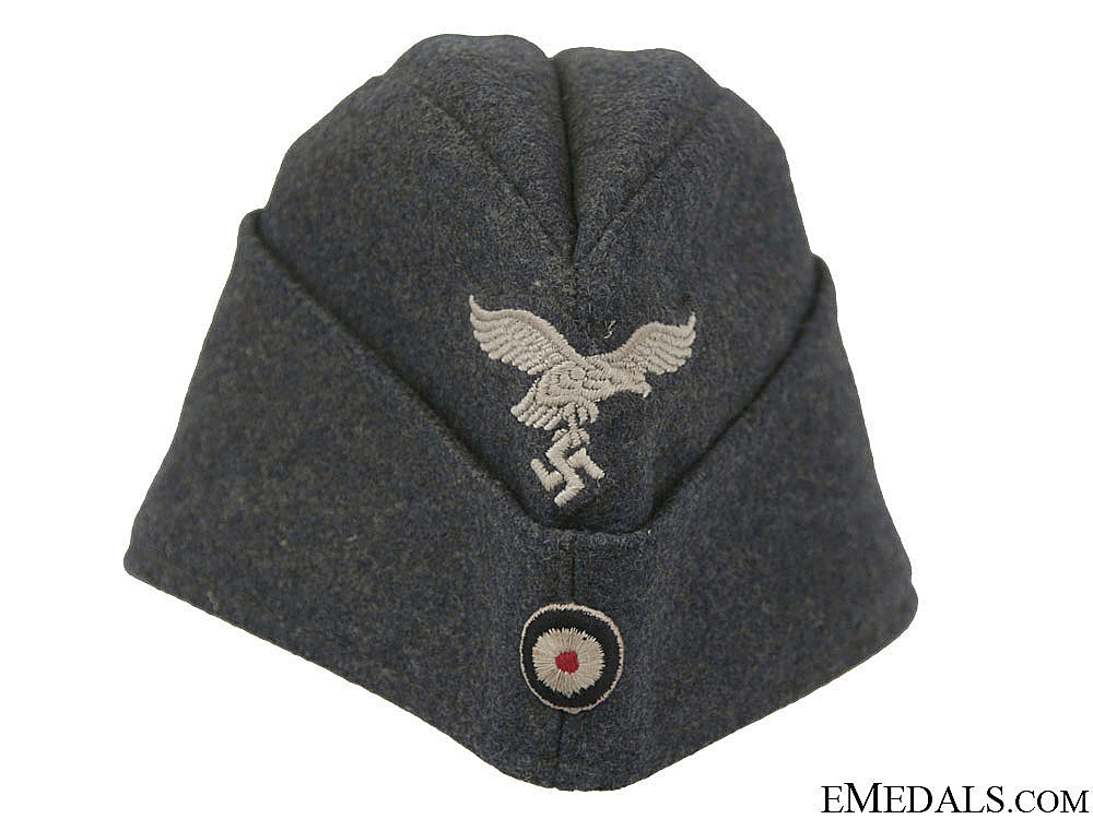 eMedals-A 1942 Dated Luftwaffe EM/NCO'S Overseas Cap
