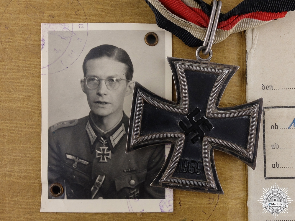 eMedals-A 1943 Knight's Cross Group to Jürgen von Nottbeck; 32nd Infty