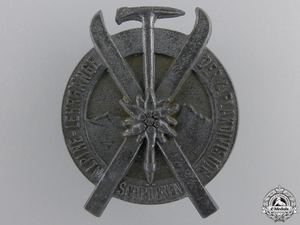 eMedals-A 1944 4th Luftwaffe Flak Division Alpine Ski Award