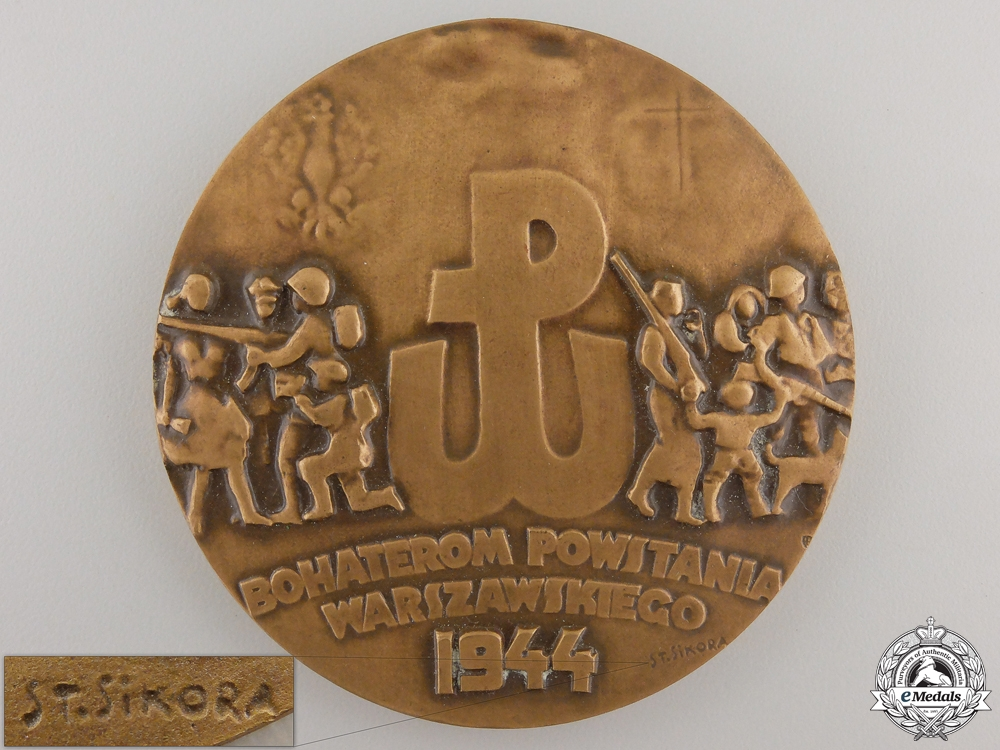 eMedals-A 1944 Polish Uprising Medal