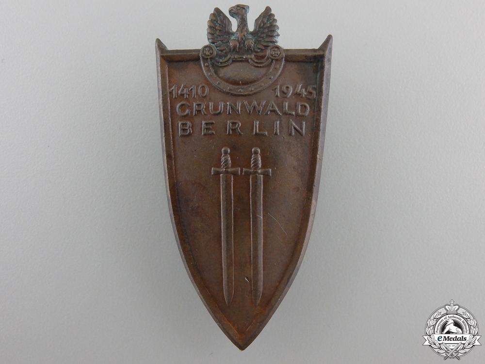 eMedals-A 1945 Polish Grunwald Badge 1945