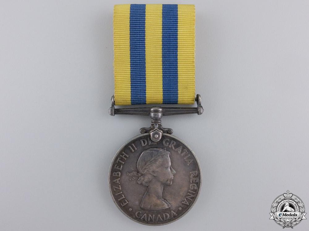 eMedals-A 1950-53 Canada Korea Medal to F. Wadden