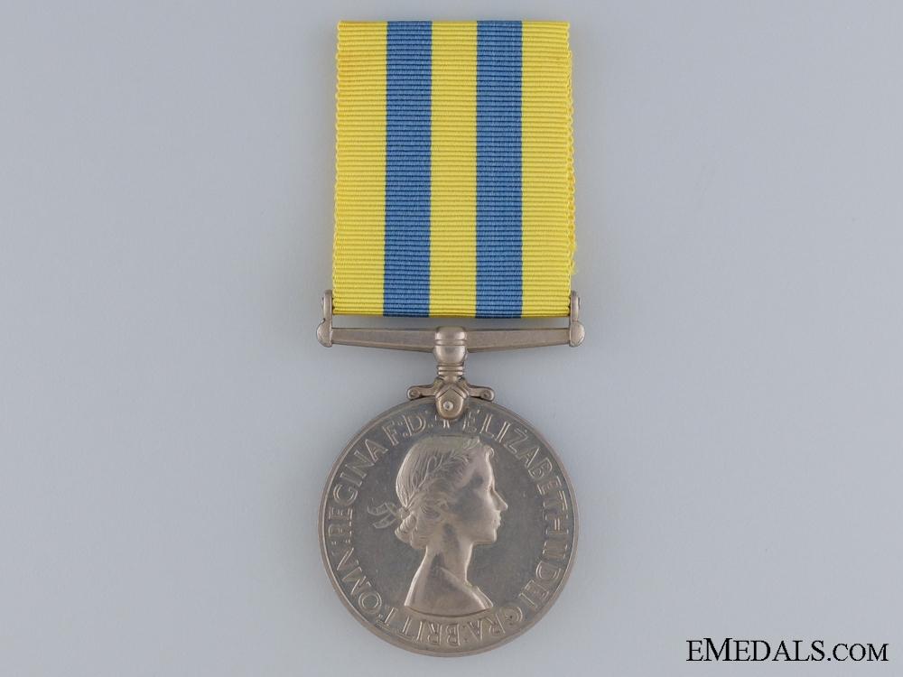 eMedals-A 1950-53 Korea Medal to the Royal Signals