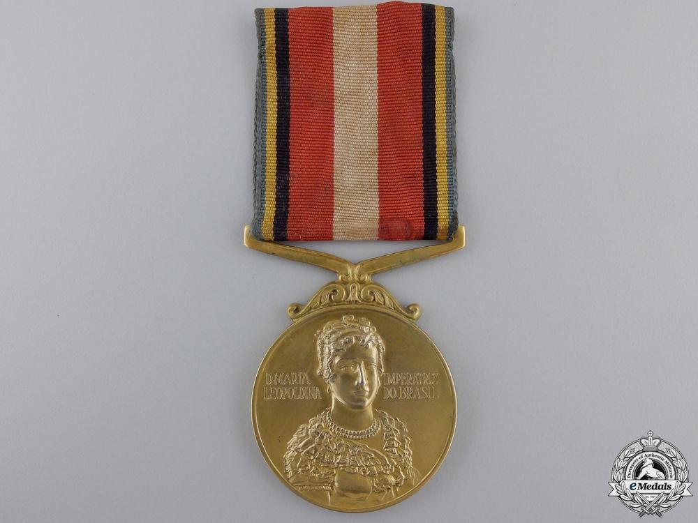 eMedals-A 1954 Brazilian Empress D. Maria Leopoldina Medal
