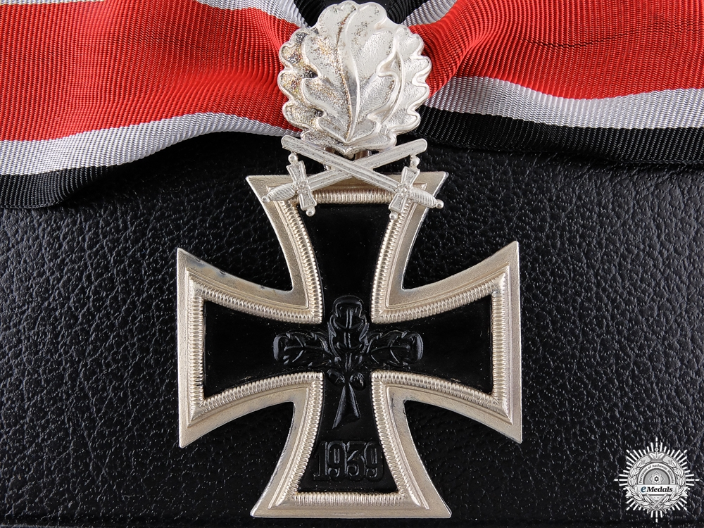 eMedals-A 1957 Knight's Cross of the Iron Cross with Swords and Oak Leaves  Consignment #29