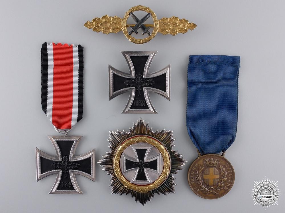 eMedals-A 1957 Luftwaffe Group to Sgt Georg Claus; Uffz 8/Stuka-Geschw