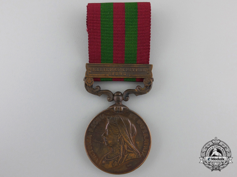 eMedals-An India Medal 1895-1902 to the Madras Construction Transport Department