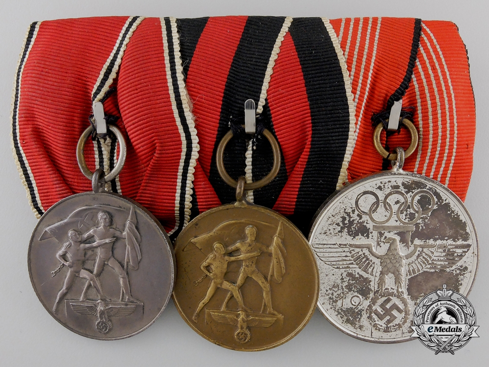 eMedals-A German Olympic Games Medal Bar