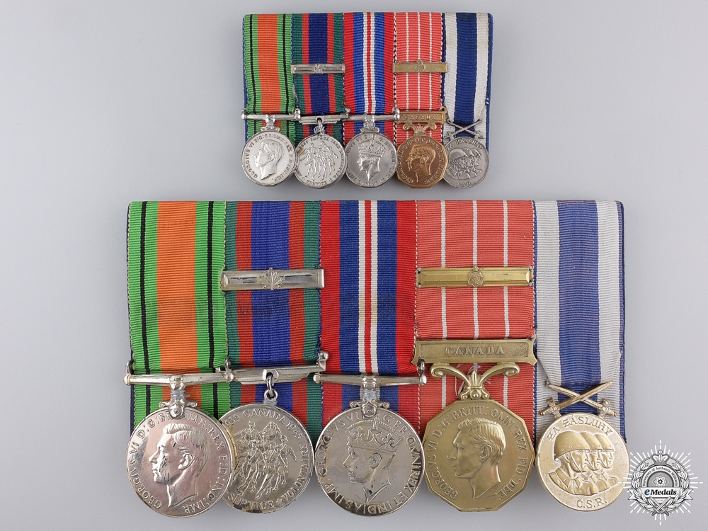 eMedals-A Second War Group to Wing Commander Walter Dicks; Royal Canadian Air Force