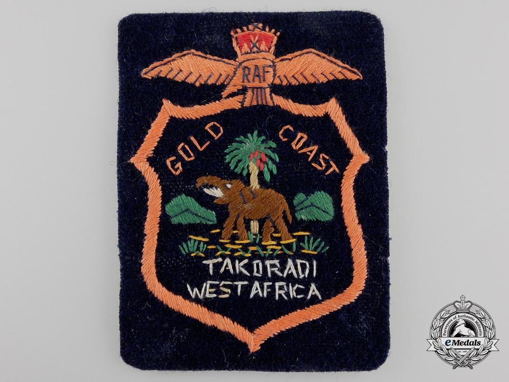 eMedals-A Royal Air Force (RAF) Gold Coast Veteran's Blazer Patch