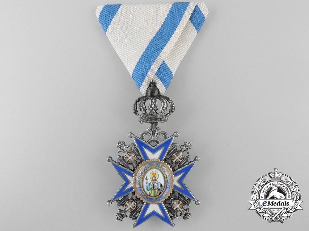 eMedals-A Serbian Order of St. Sava; Fifth Class Knight's Cross