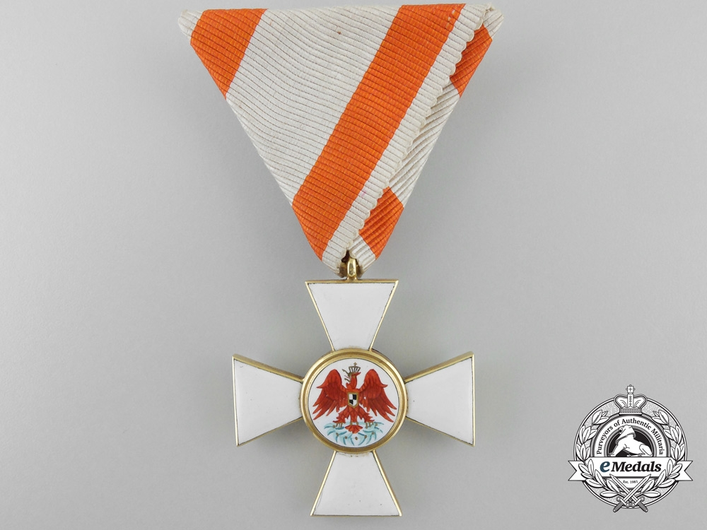 eMedals-A Prussian Order of the Red Eagle in Gold; Third Class by Neuhaus & Sohn