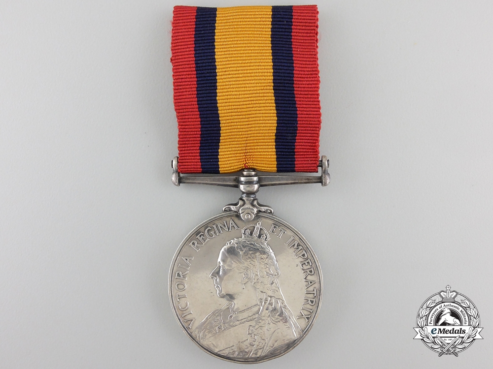 eMedals-Great Britain. A Queen's South Africa Medal 1899-1902 to Nursing Sister Collins