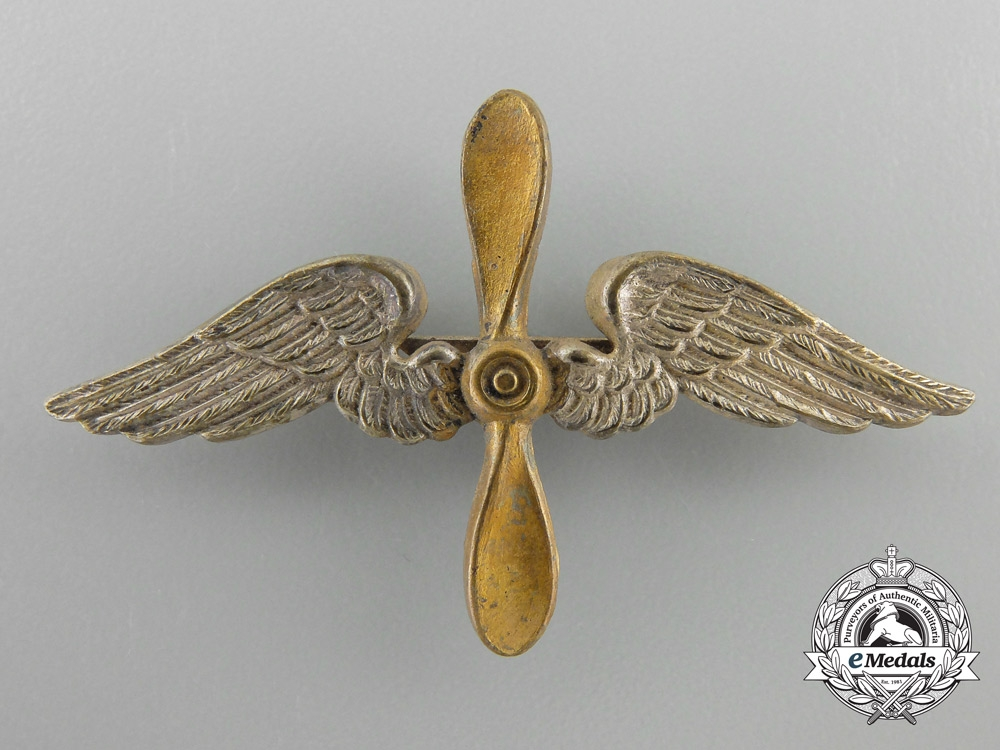 eMedals-A German Imperial Shoulder Board Insignia for a Fliegertruppe