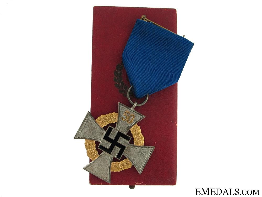 eMedals-A 50 Year Faithful Service Cross