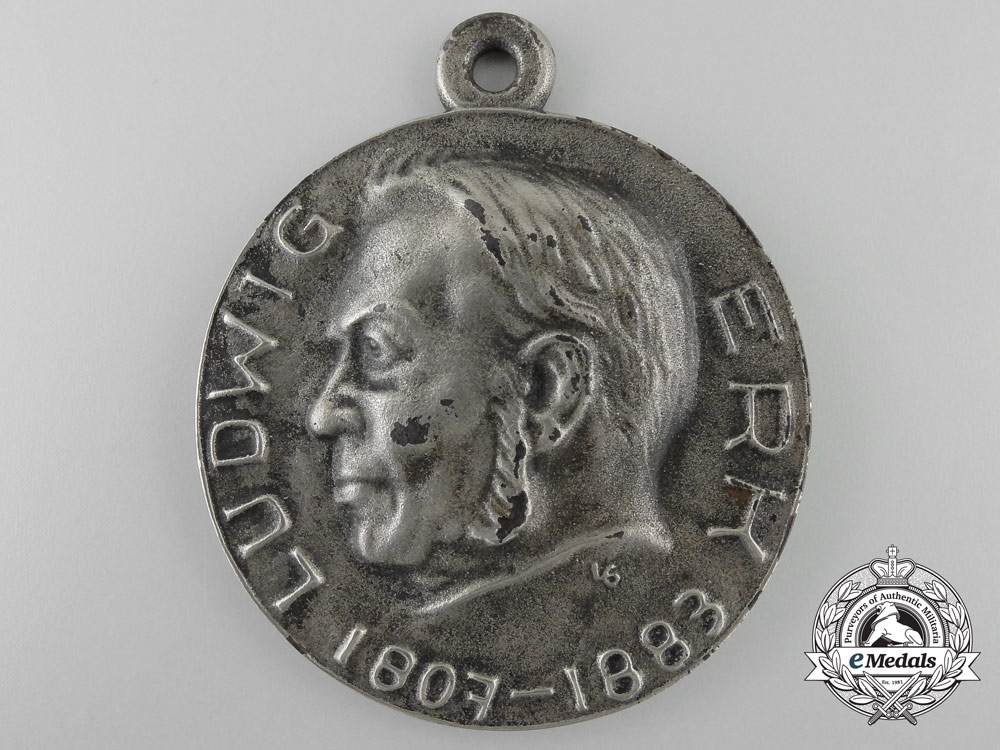 eMedals-Germany, Third Reich. A Large 1938 Hessen Singers League Award