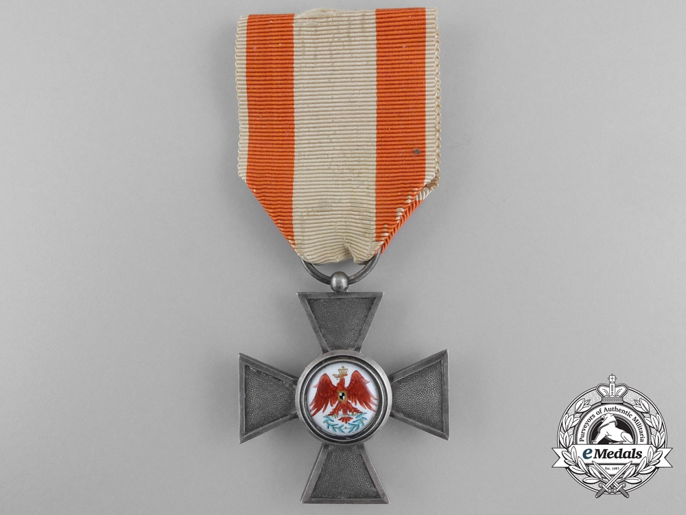 eMedals-A Prussian Order of the Red Eagle; Fourth Class Cross