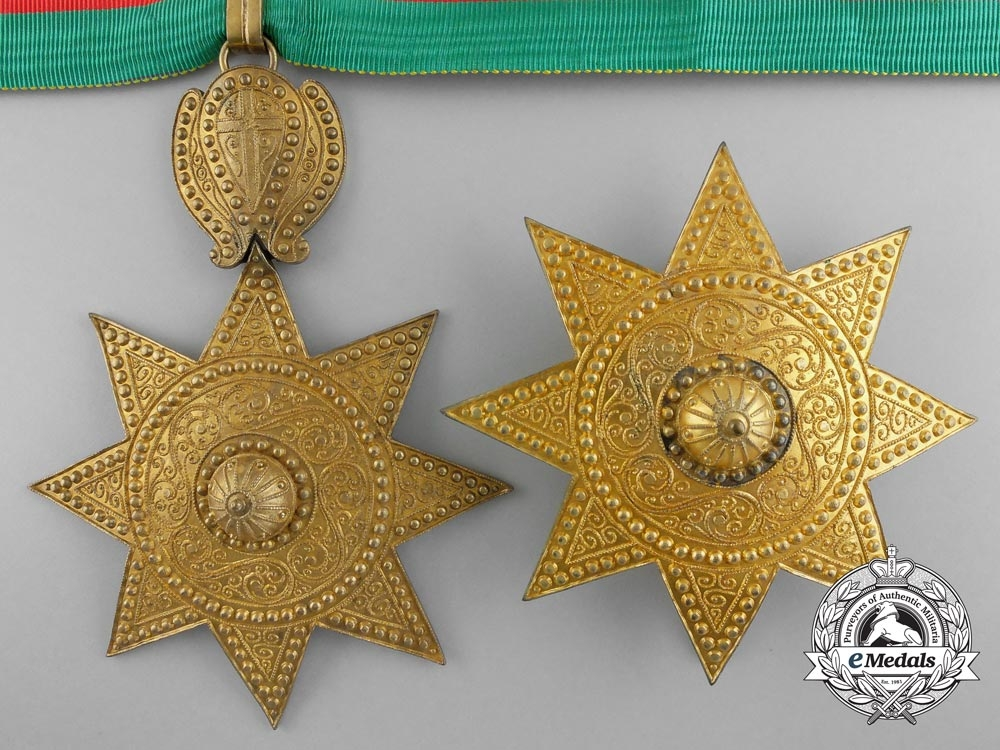 eMedals-An Order of the Star of Ethiopia; Grand Officer Set by B.A. Sevadjian