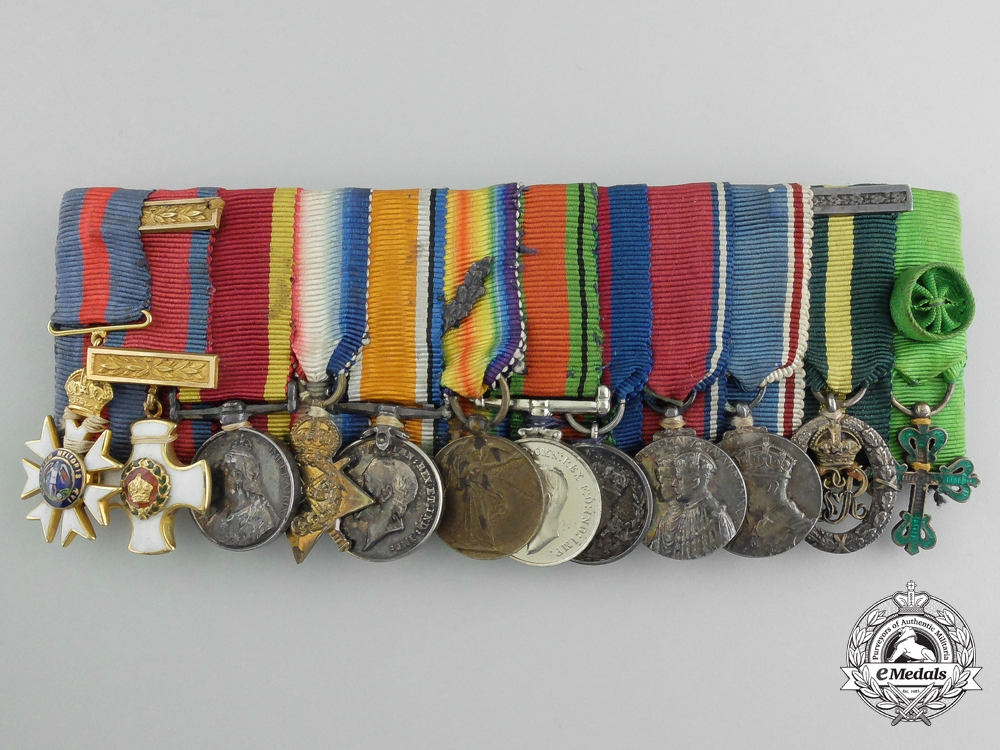 eMedals-Great Britain. A Fine First War Order of St. Michael and St. George Miniature Group