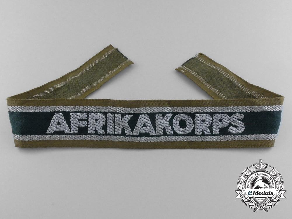eMedals-An Afrikakorps Campaign Cufftitle
