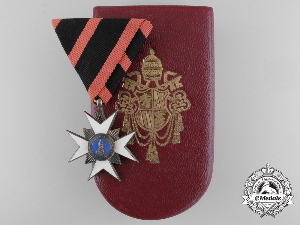 eMedals-An Order of St. Sylvester by Austrian Maker Rothe