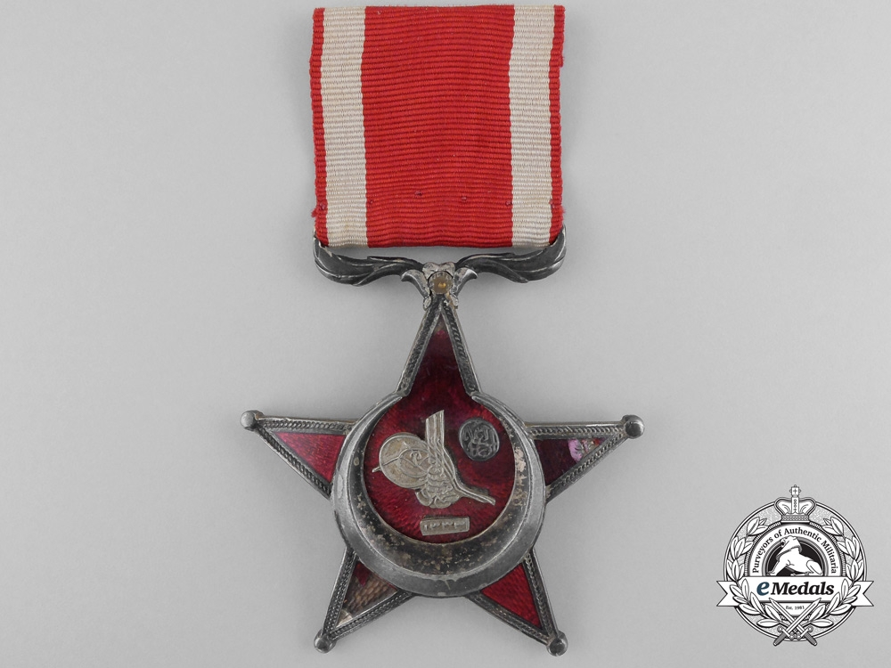 eMedals-A 1915 Turkish Campaign Star with Suspension
